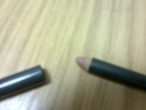 Always handy to have a lip pencil without a sharpener