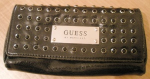 Black Guess Clutch