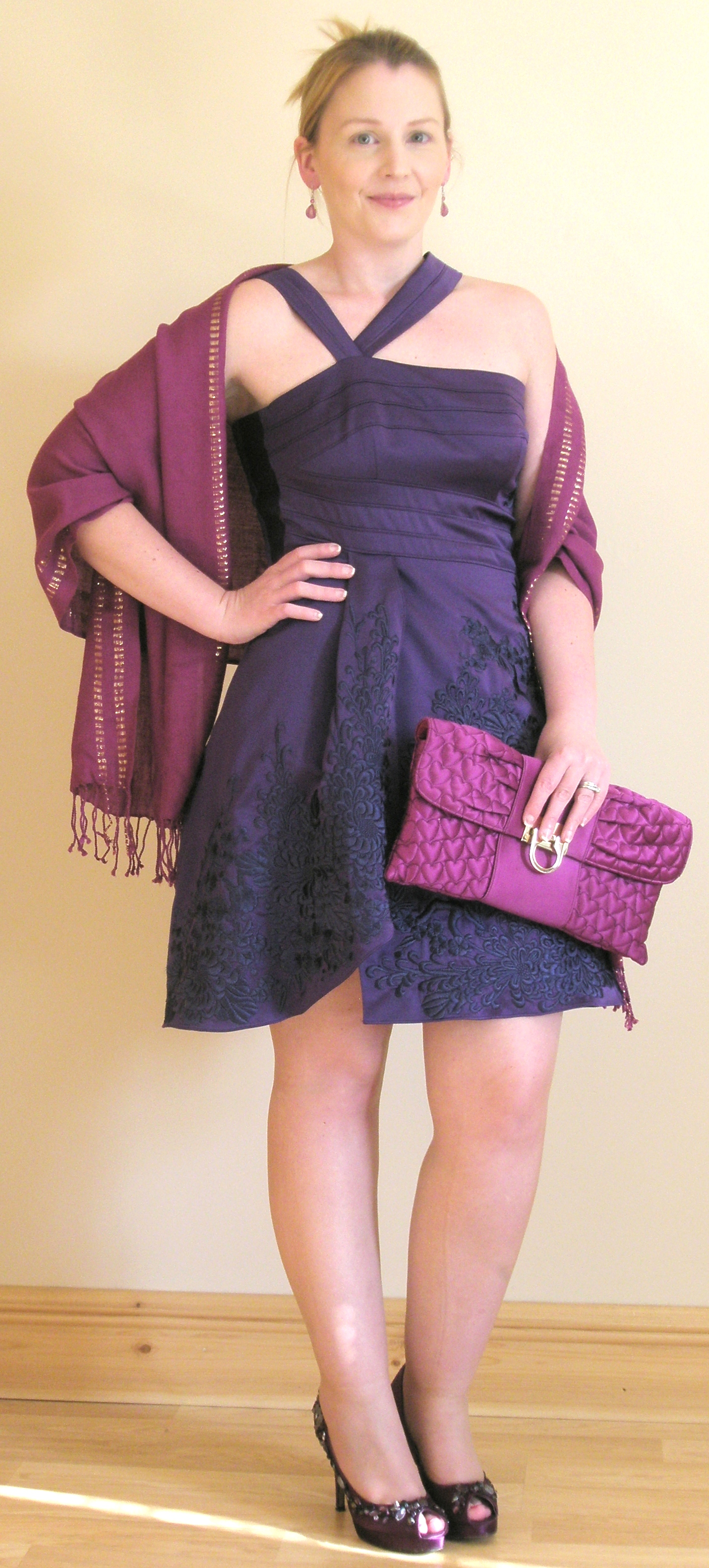 WEDDING GUEST STYLE INSPIRATION: THE PURPLE DRESS