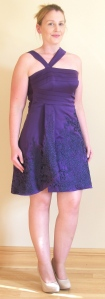 Purple Karen Millen Dress