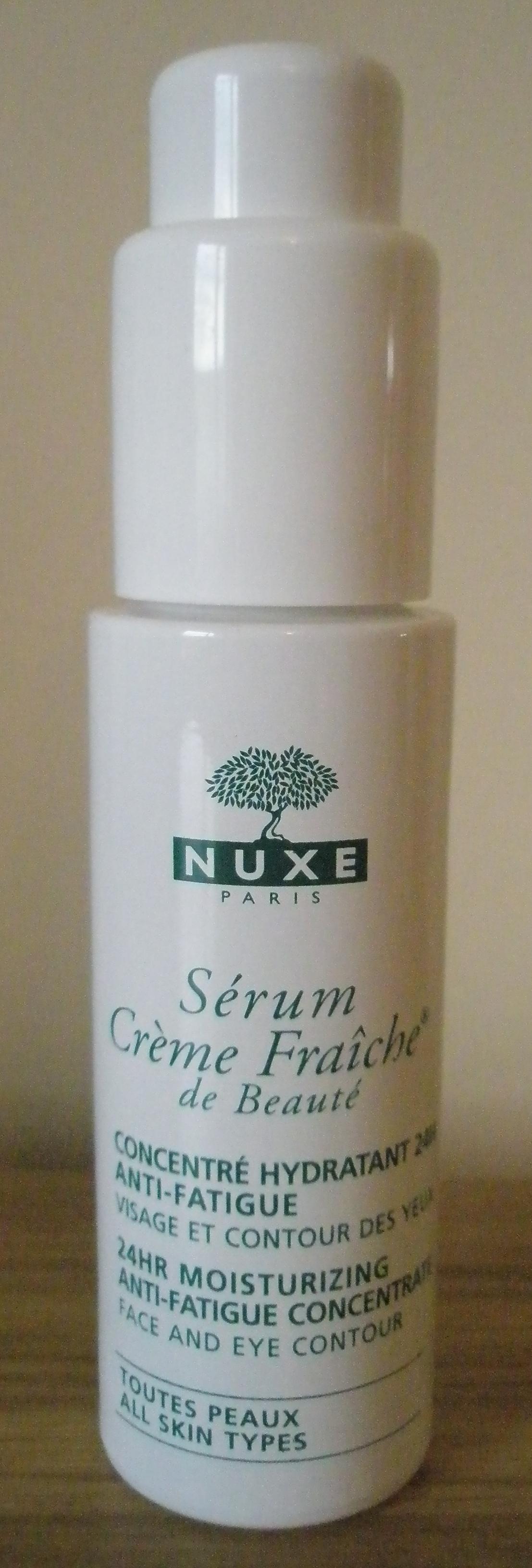 nuxe creme fraiche serum review ah sure tis lovely. Black Bedroom Furniture Sets. Home Design Ideas