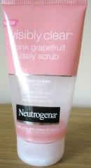 Neutrogenta Viably Clean Pink grapefruit Daily Scrub