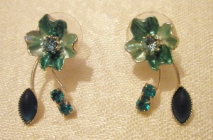 Green Pulse Accessories Earrings