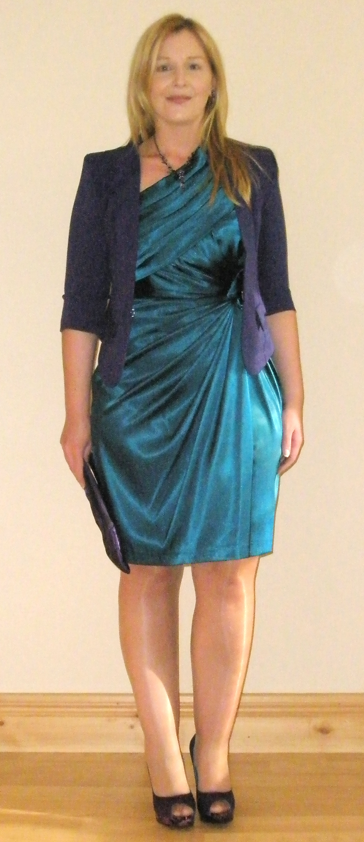 Wedding guest style inspiration the teal green dress ah for Teal dress for wedding