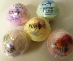 Pixy Bath Bombs
