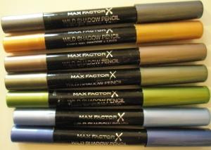 Max Factor Wild Shadow Pencils