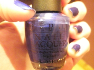 OPI Blue My Mind