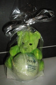 Pixy Rainbow Green Bear