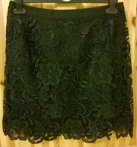 Awear Black Lace Skirt