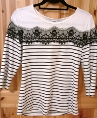 Vero Moda Monochrome Lace top