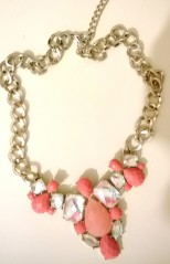 Coral New Look Necklace