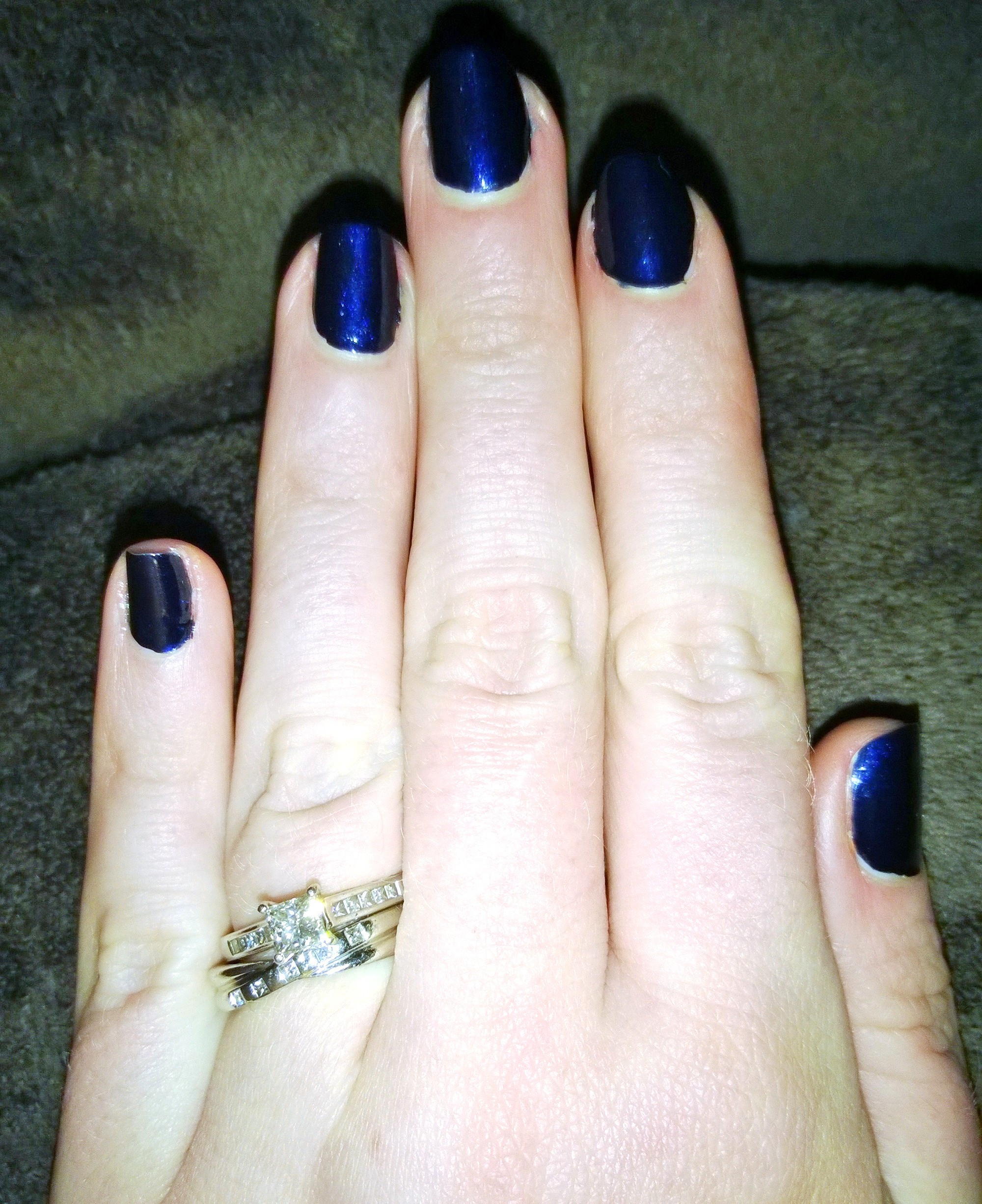 BOURJOIS 1 SECOND GEL NAIL POLISH IN BLEU MOONLIGHT: REVIEW AND ...