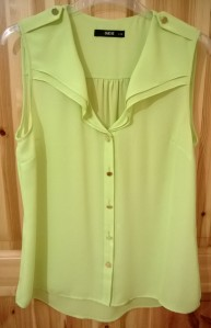 Oasis Lime Blouse