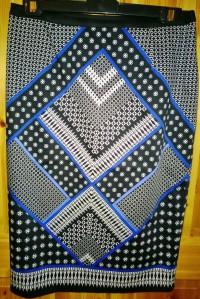 Oasis Scarf Print Skirt