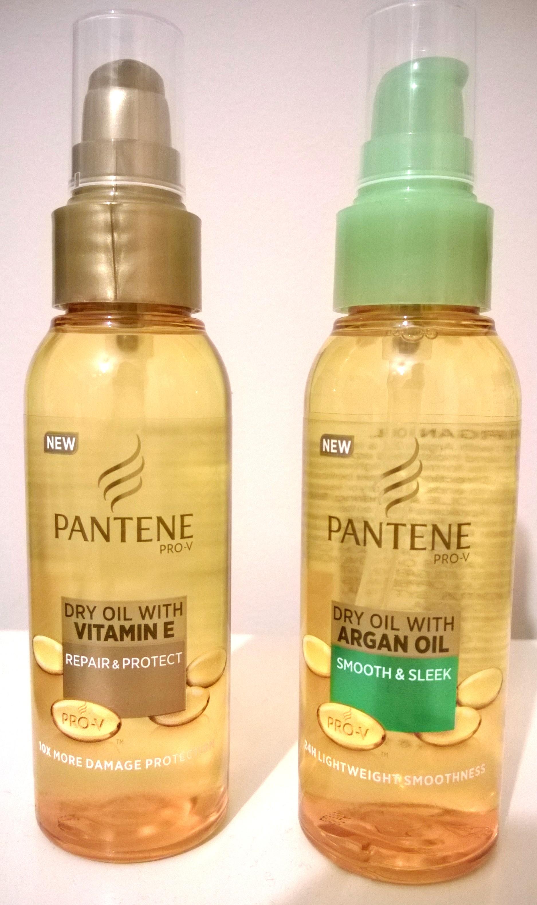 Pantene Pro V Dry Oils For Hair Review Ah Sure Tis Lovely
