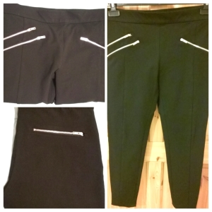 Zara Zips Trousers