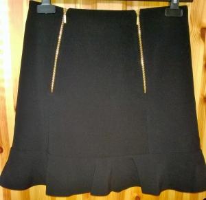 Peplum Zips Closet Skirt