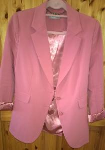Dusky Pink Awear blazer