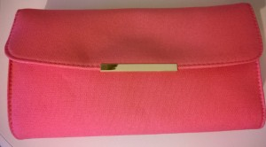 Coral Body Shop Clutch