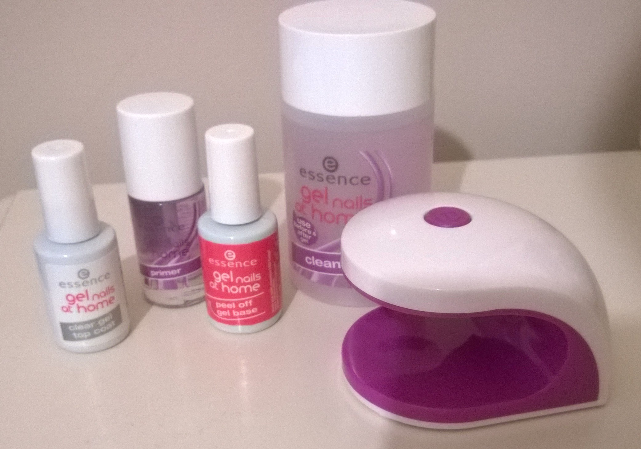 ESSENCE GEL NAILS AT HOME: REVIEW AND PICTURES | Ah Sure Tis Lovely