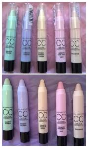 Max Factor Colour Corrector CC Sticks