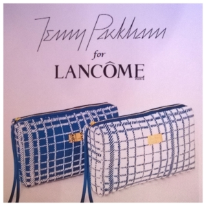 Jenny Packham for Lancome Makeup Bag