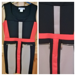 Jaime La Vie Colour Block Dress