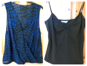 Penneys Blue Animal Print Top