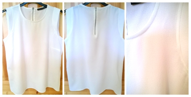 Pennys White Textured Top