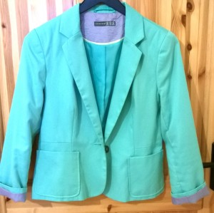 Penneys Mint Green Blazer