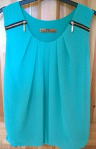 Carraig Donn Pala D'Oro Mint Green Top