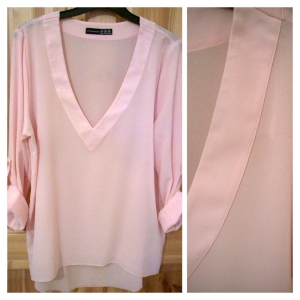 Penneys Crepe Baby Pink Top