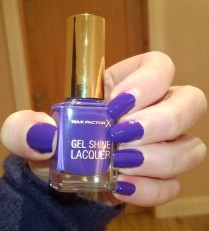 Max Factor Gel Shine Lacquer Lacquered Violet