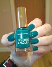 Max Factor Gel Shine Lacquer Gleaming Teal