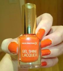 Max Factor Gel Shine Lacquer Vivid Vermillion