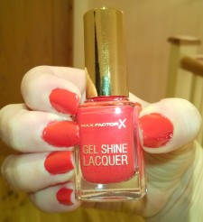 Max Factor Gel Shine Lacquer Patent Poppy