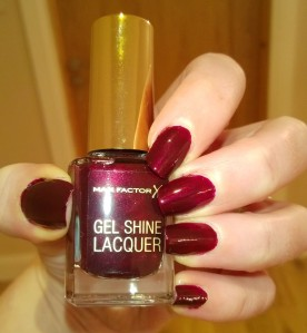 Max Factor Gel Shine Lacquer Sheen Merlot