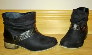 New Look Black Slouchy Ankle Boots