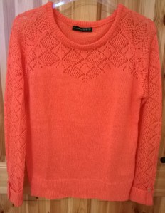 Penneys Orange Jumper