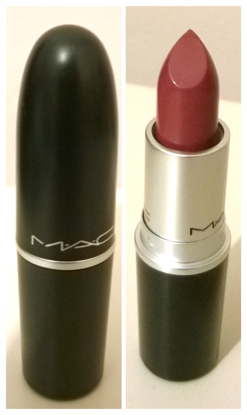 MAC SATIN LIPSTICK CAPTIVE: REVIEW AND PICTURES