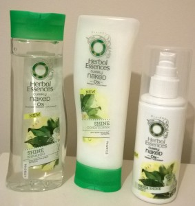 Herbal Essences Clearly Naked Shine Collection