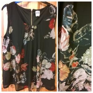 Vero Moda Floral Print Top