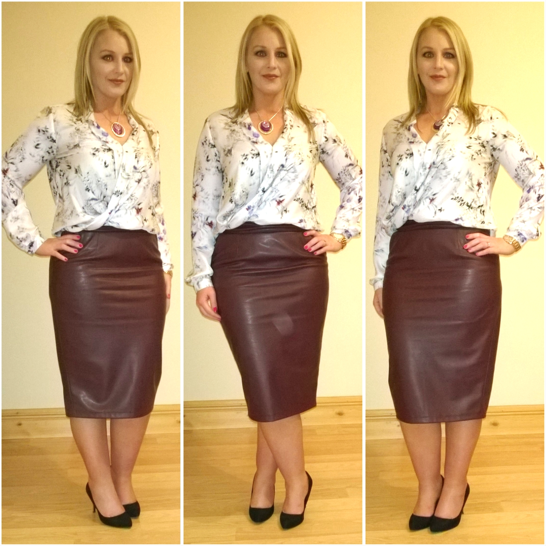buy cheap free shipping new images of faux leather pencil skirt | Ah Sure Tis Lovely