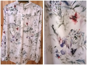 River Island Watercolour Print Blouse