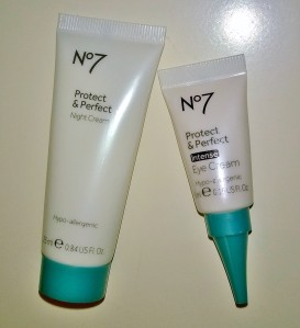 No 7 Protect & Perfect Night Cream & Intense Eye Cream