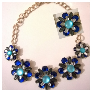Carraig Donn Blue Necklace