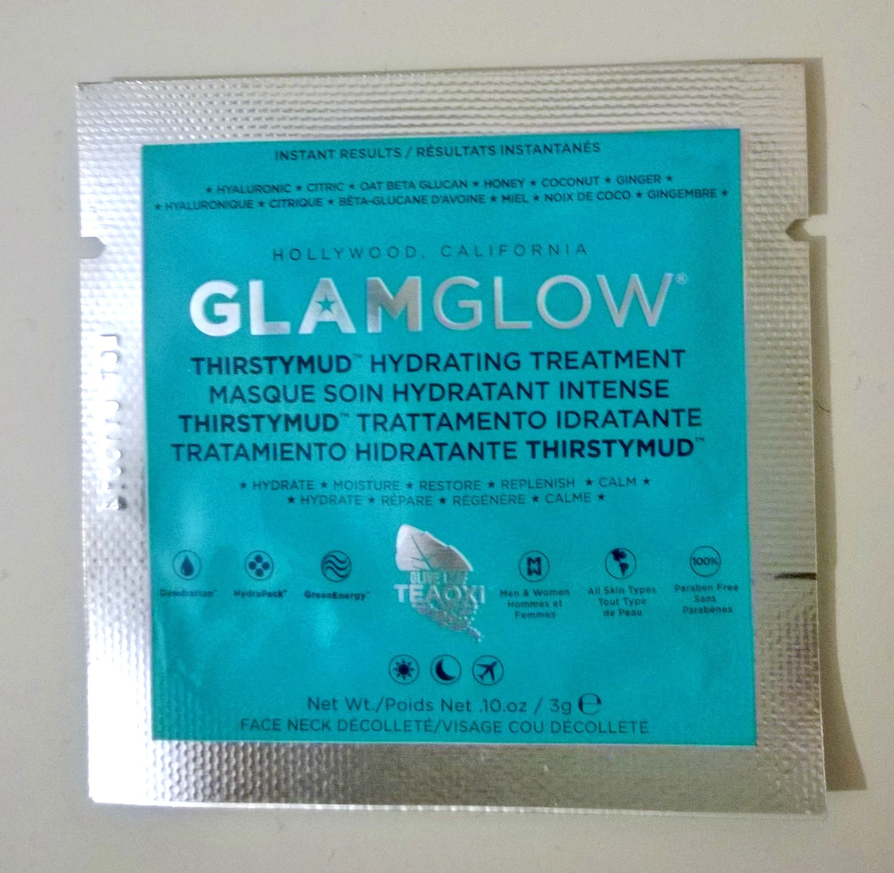 GLAMGLOW THIRSTYMUD HYDRATING TREATMENT MASK: REVIEW | Ah Sure Tis ...
