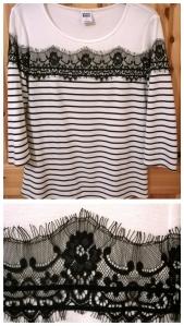 Vero Moda Lace Breton Top