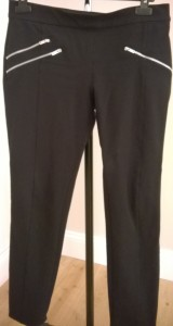 Zara Black Trousers with Zips