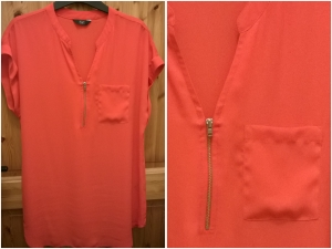 Tesco Orange Tunic